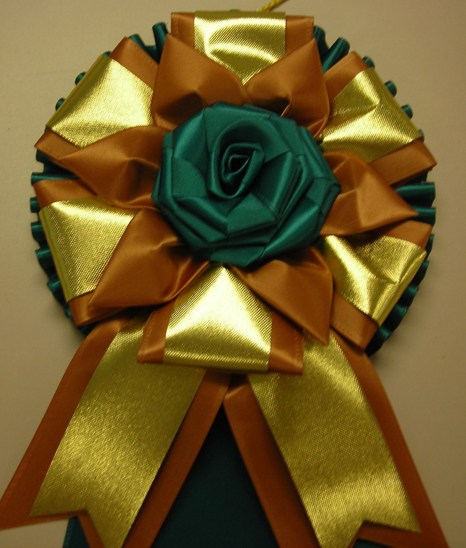 PP4CP with rose button & gold accent