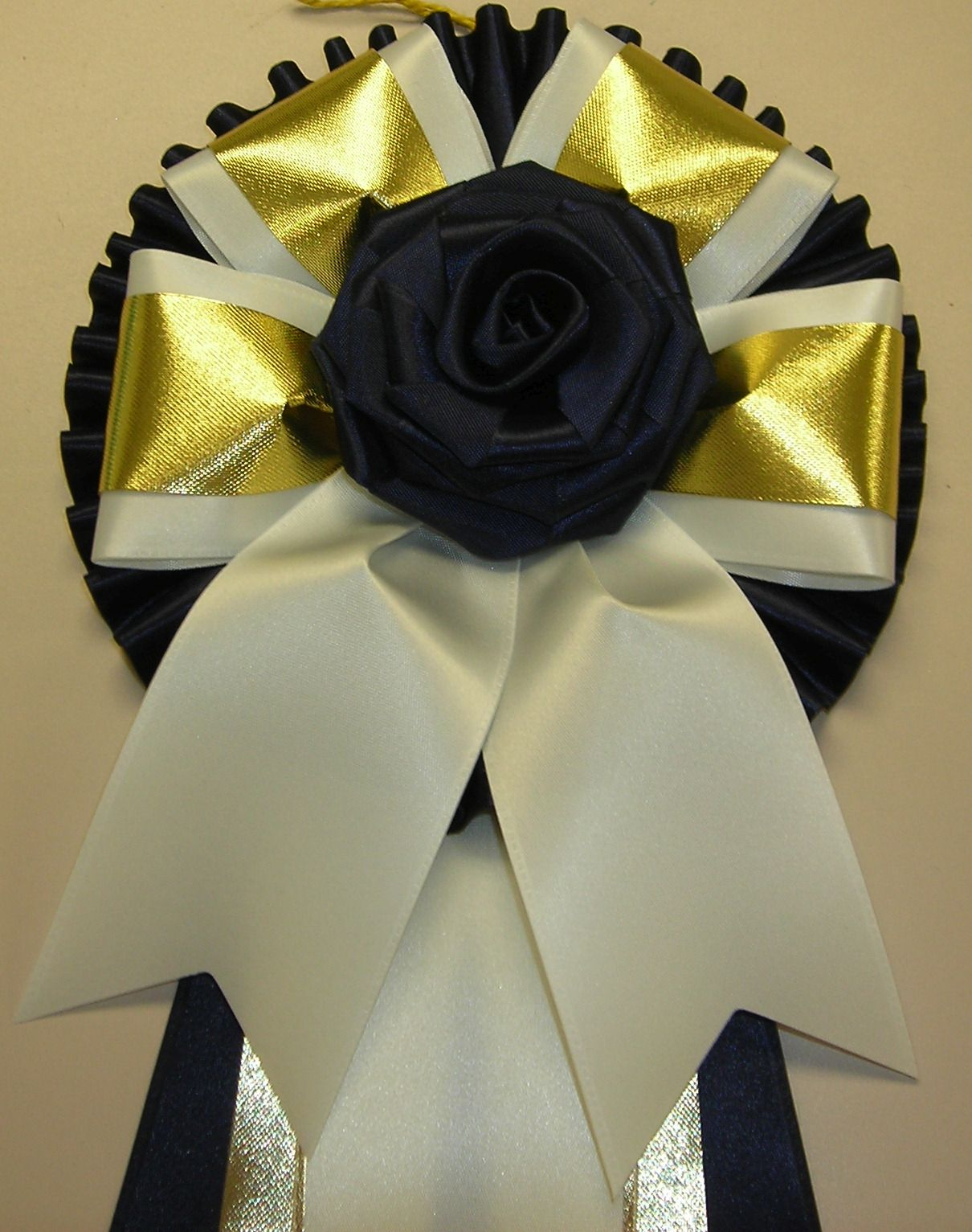 PP3CP with rose button & gold accent