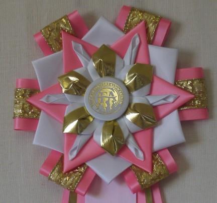 9T-7 neon pink & white