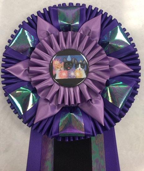 cats color button purples