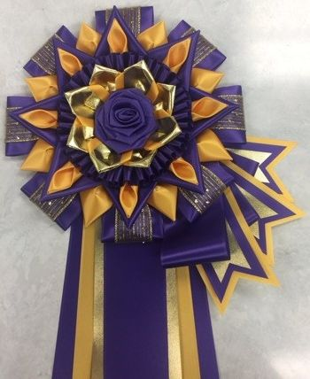 CDNC - purple, deep gold w/ optional flags & folds